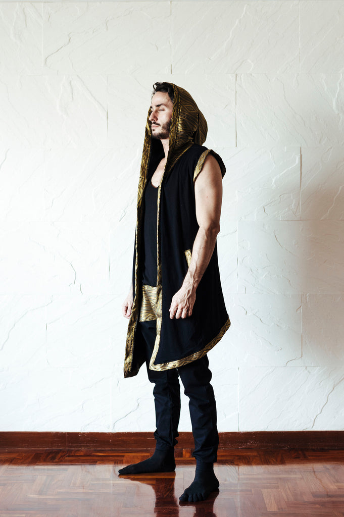 TAIKA ROYAL - Ultimate Burning Man Cape Hoodie *LIMITED EDITION*