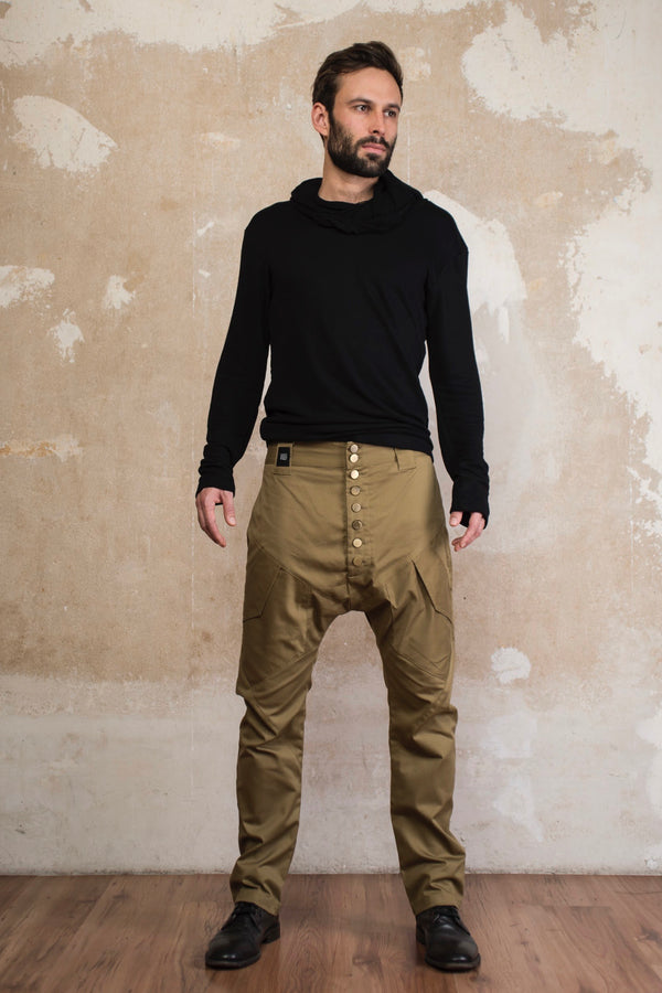 URBAN - Drop crotch harem pants