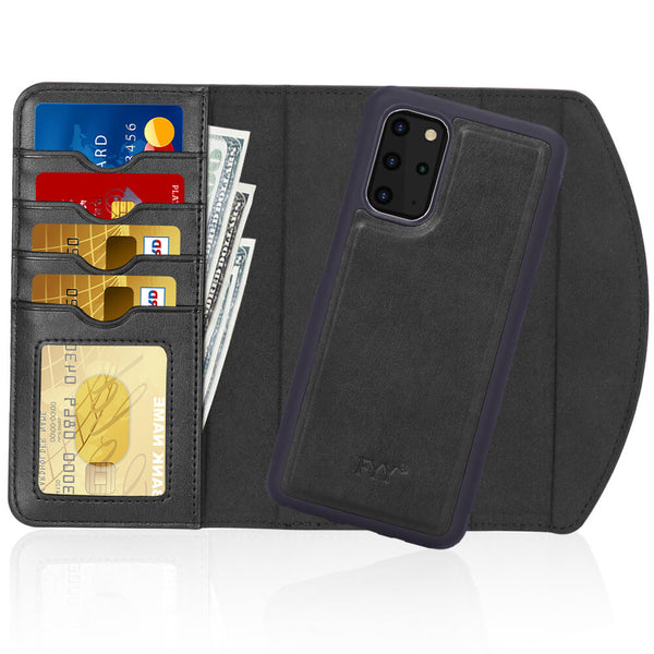 Magnetic Wallet Case for Galaxy S20 Plus