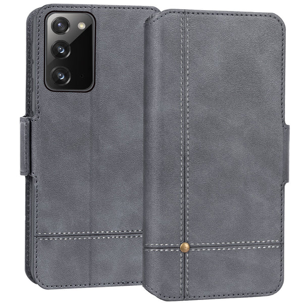 Ultra Slim PU Leather Wallet Case for Galaxy Note 20 6.7""