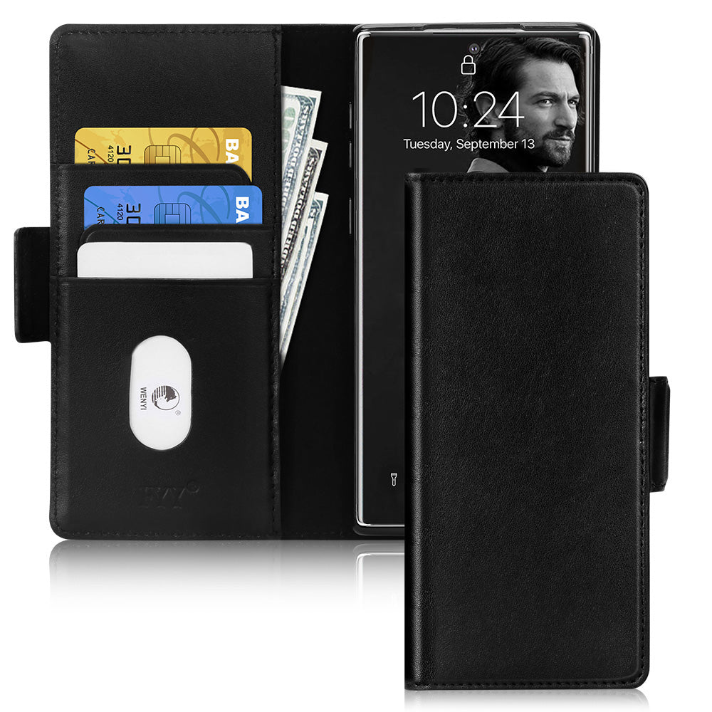 [Genuine Leather] Samsung Galaxy Note 10 Case | fyystore