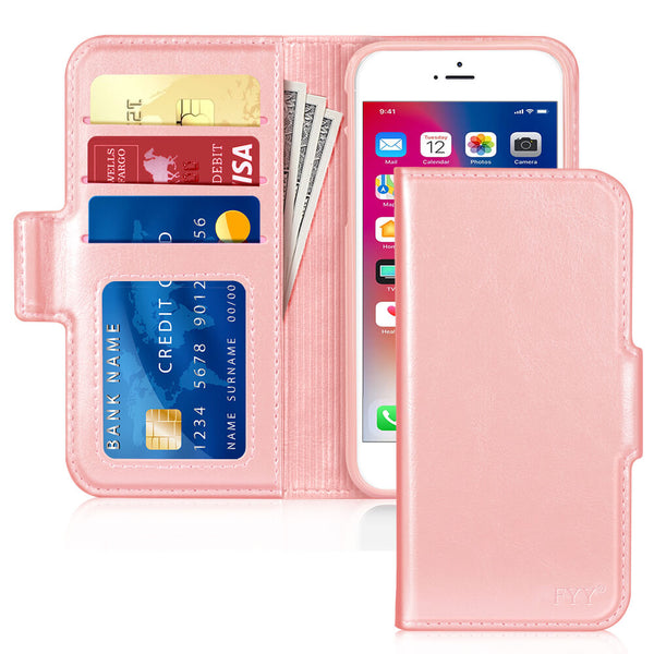Antibacterial Wallet case for iPhone 8 Plus/iPhone 7 Plus (5.5 inch)