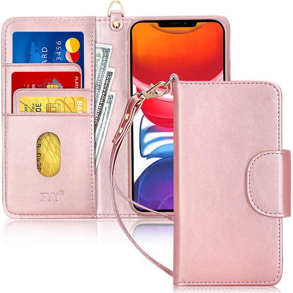 Wallet Case for iPhone 12 Mini 5.4''