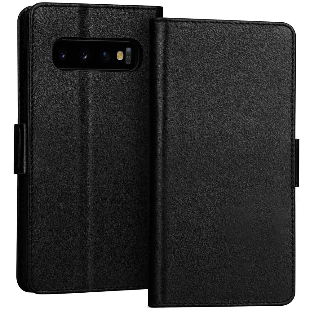 Luxury [RFID Blocking] Wallet Case for Galaxy S10 6.1"