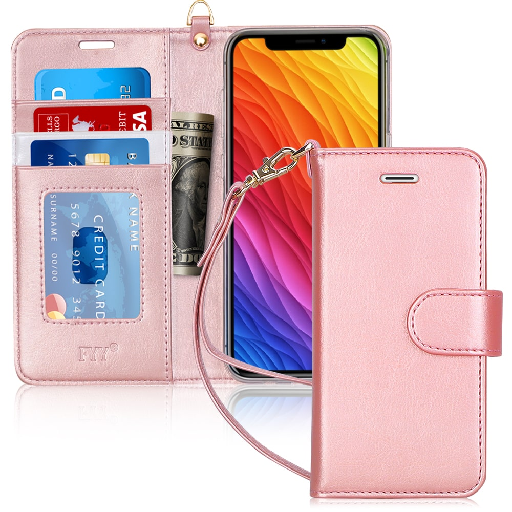 "PU Leather Wallet Case for iPhone Xs Max 6.5"" 2018"