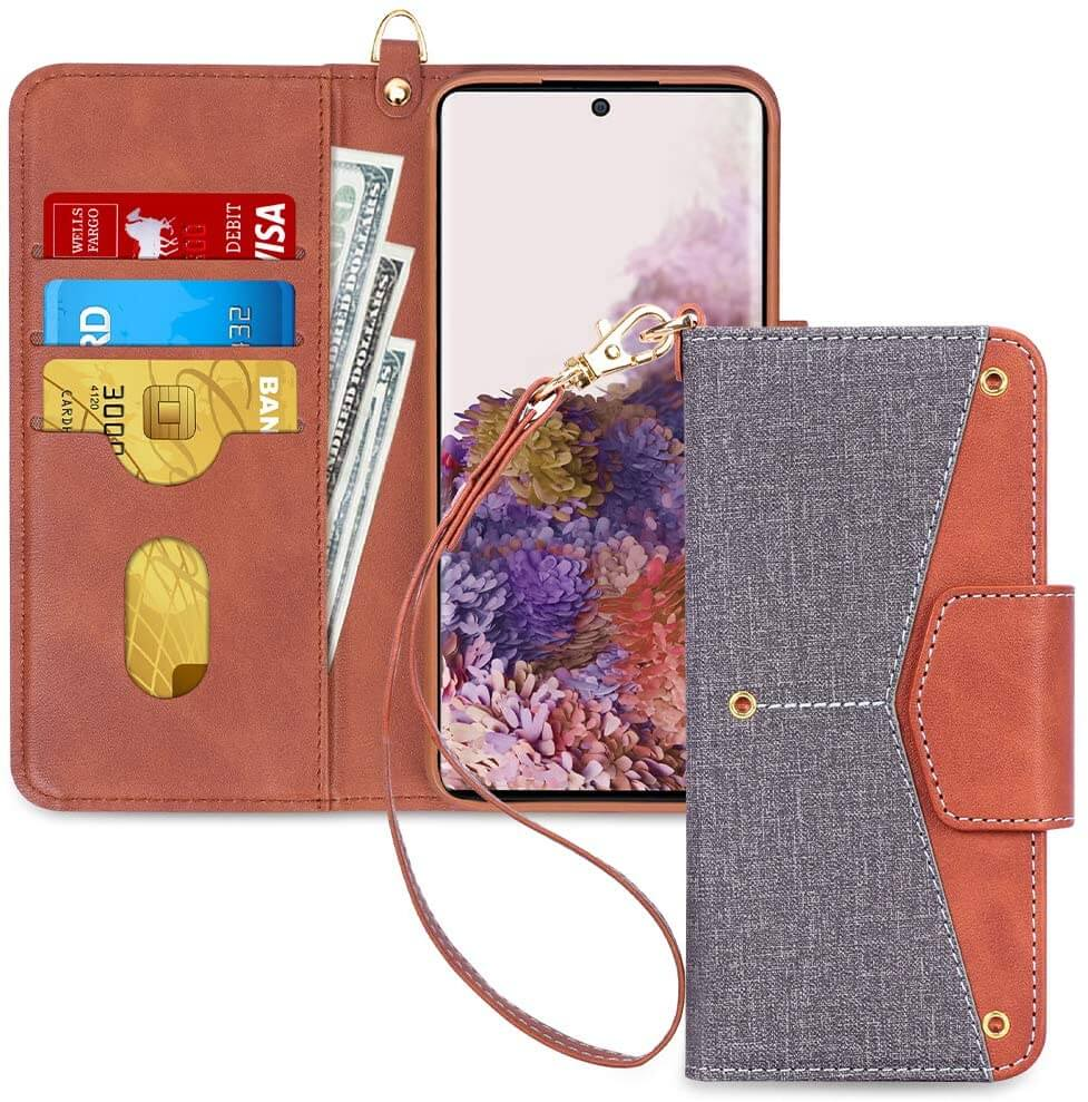 Wallet Case for Galaxy S20 6.2'' 5G 2020