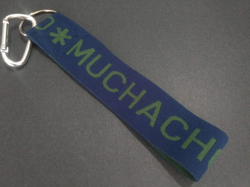 MUCHACHOMALO KEYCHAIN - BLUE AND GREEN