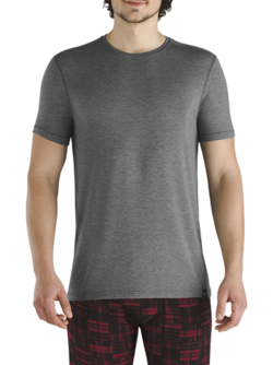 SAXX Sleepwalker SS Tee Charcoal Heather