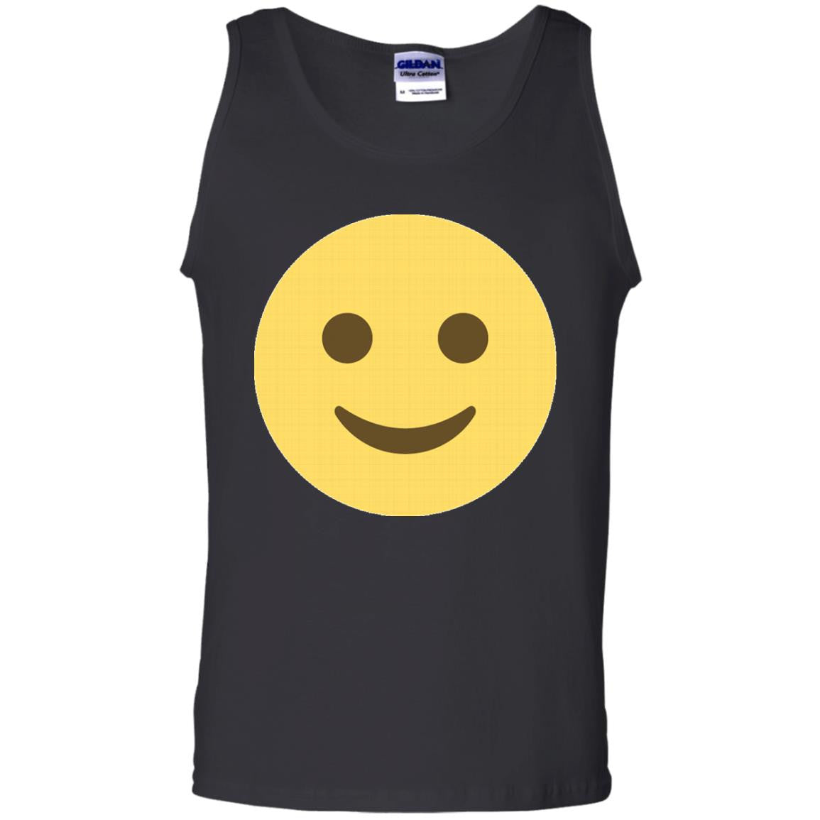 Smiling Emoji Face Tank Top