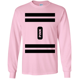 Pink Crayon Costume Long Sleeve T-Shirt