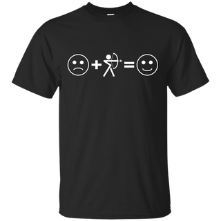 Sad + Archery = Happy T-Shirt