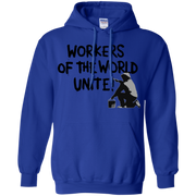 Workers of the World Unite! Protest Trump Hoodie