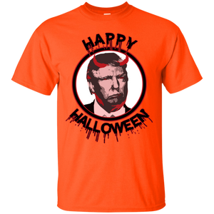 Happy Halloween Scary Trump Devil T-Shirt