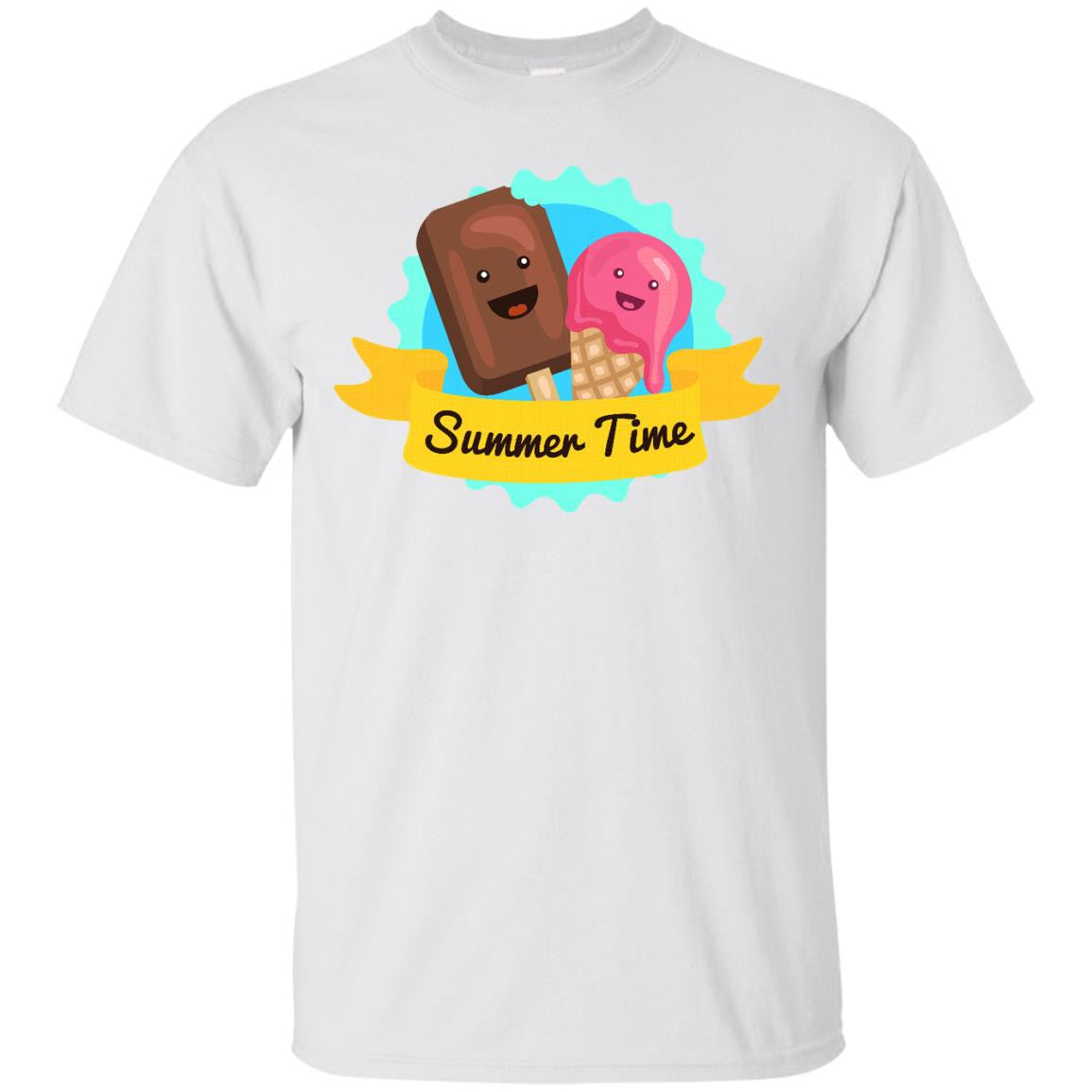 Summer Time Ice Cream Month T-Shirt
