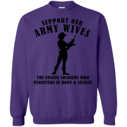 Support Our Army Wives Sweatshirt