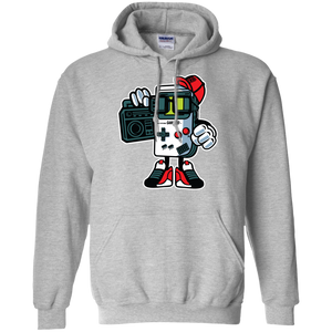 Retro Gamer Kid Cartoon Hoodie