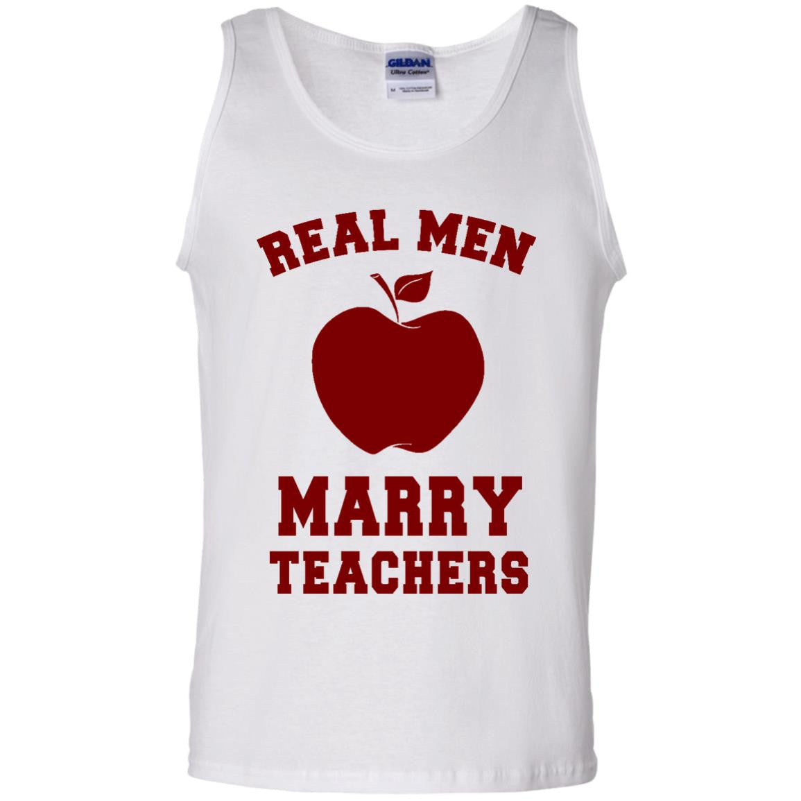 Real Men Marry Teachers Tank Top