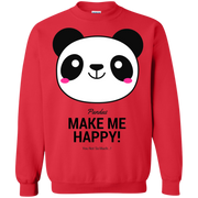 Pandas Make Me happy, You Not so Much! Sweatshirt