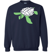 Turtle Loves Stencil Sweatshirt