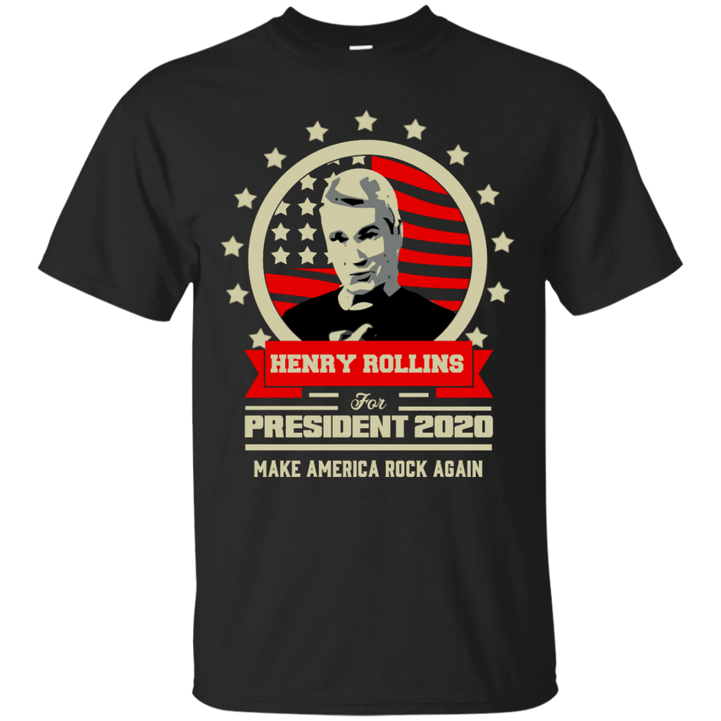 Henry Rollins For President 2020 Make America Rock Again T-Shirt