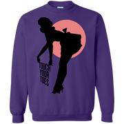 Vintage Girl Touch Your Toes Sweatshirt