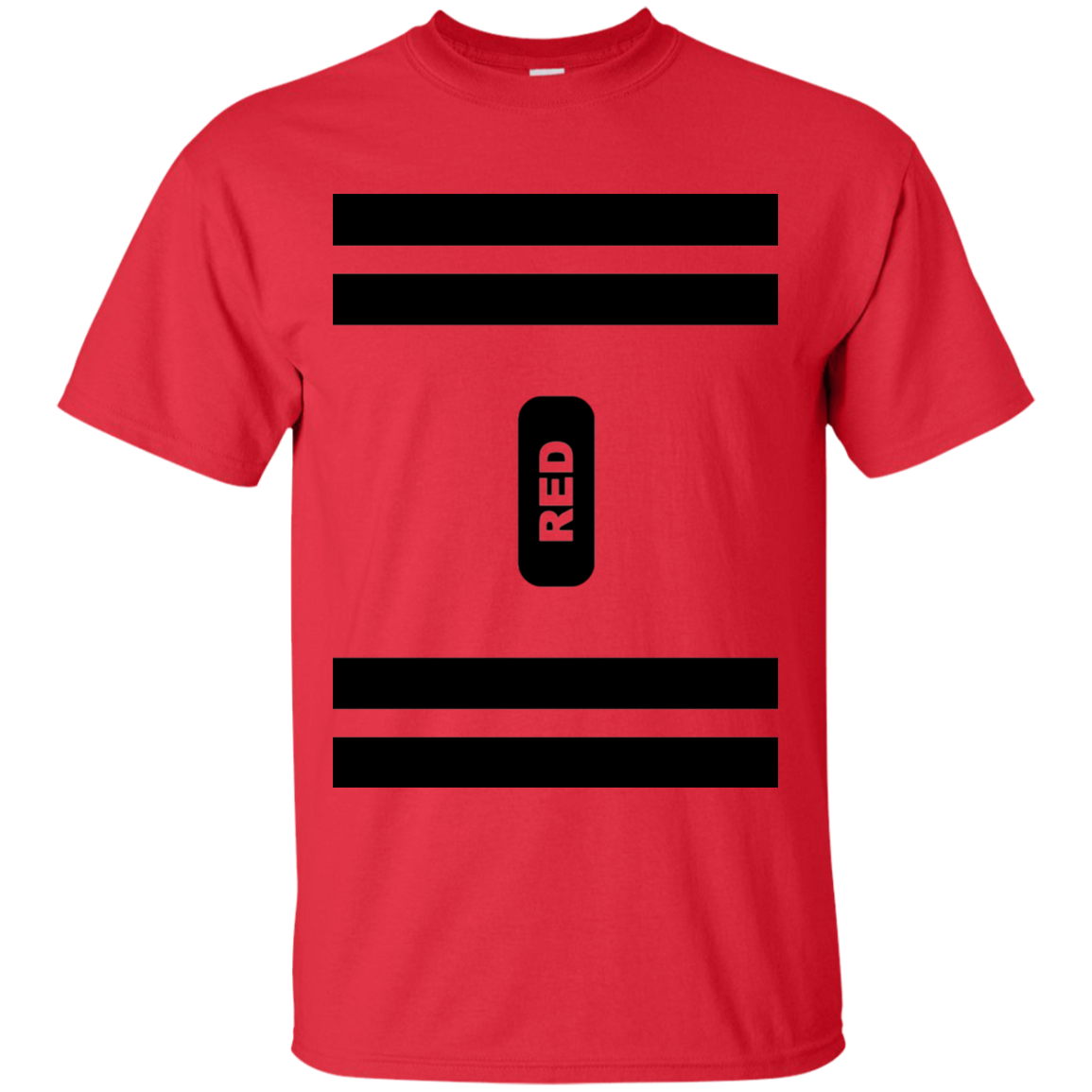 Red Crayon Costume T-Shirt