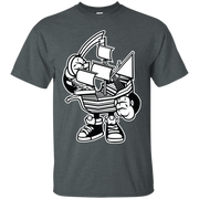 Sailor Ship Cartoon Character T-Shirt
