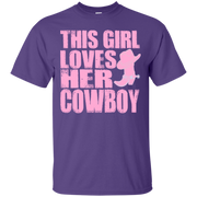 This Girl Loves Her Cowboy T-Shirt