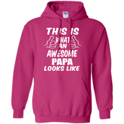 This is What an Awesome Papa Looks Like Hoodie