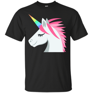 Unicorn Face Emoji T-Shirt