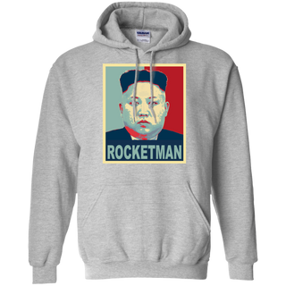 Rocketman vs Dotard Meme Kim Jung Un / Trump Hoodie
