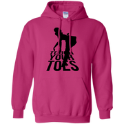 Touch Your Toes Vintage Girl Hoodie