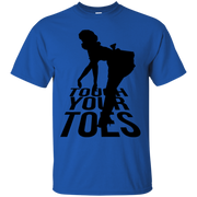 Touch Your Toes Vintage Girl T-Shirt