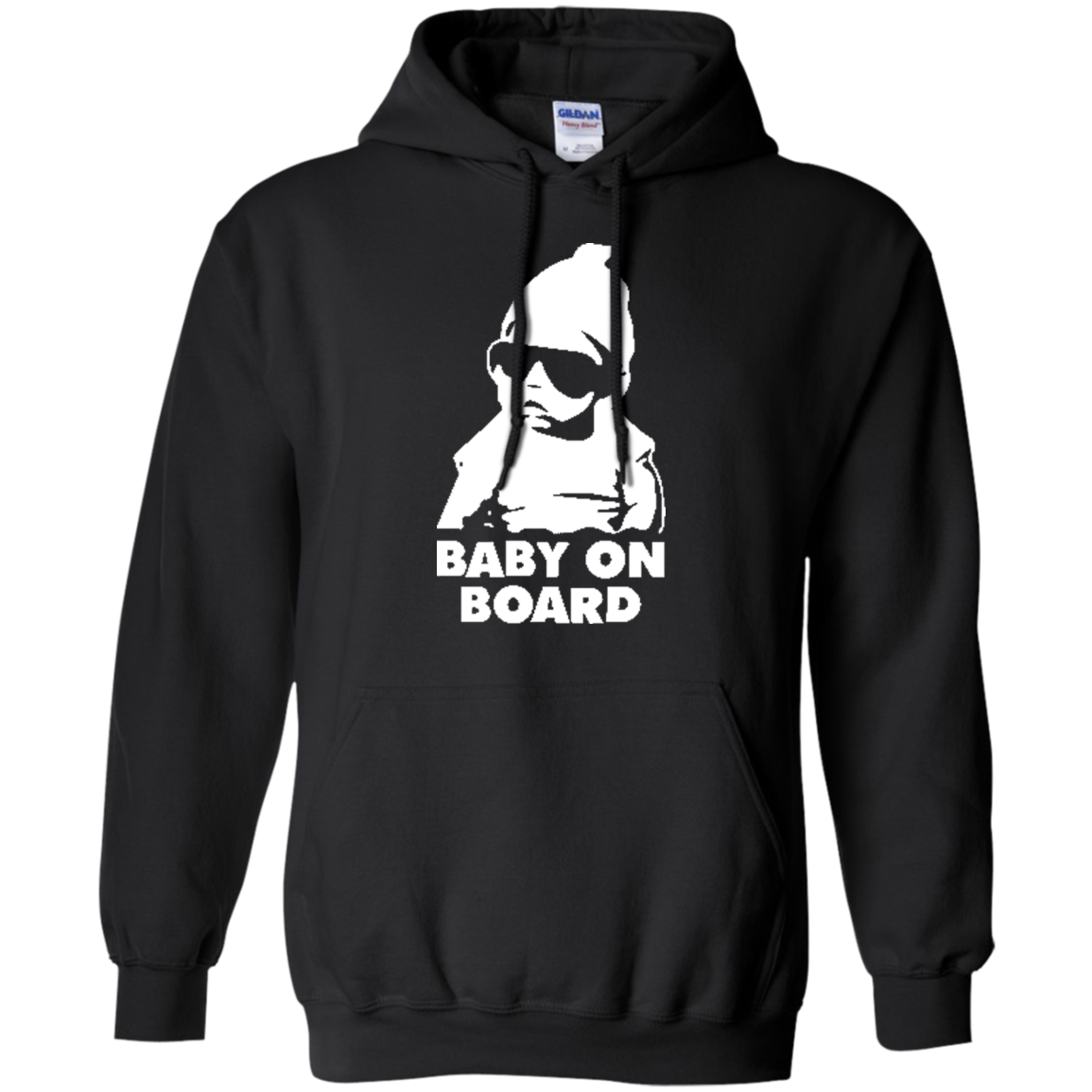 Hangover Cool Baby on Board Hoodie