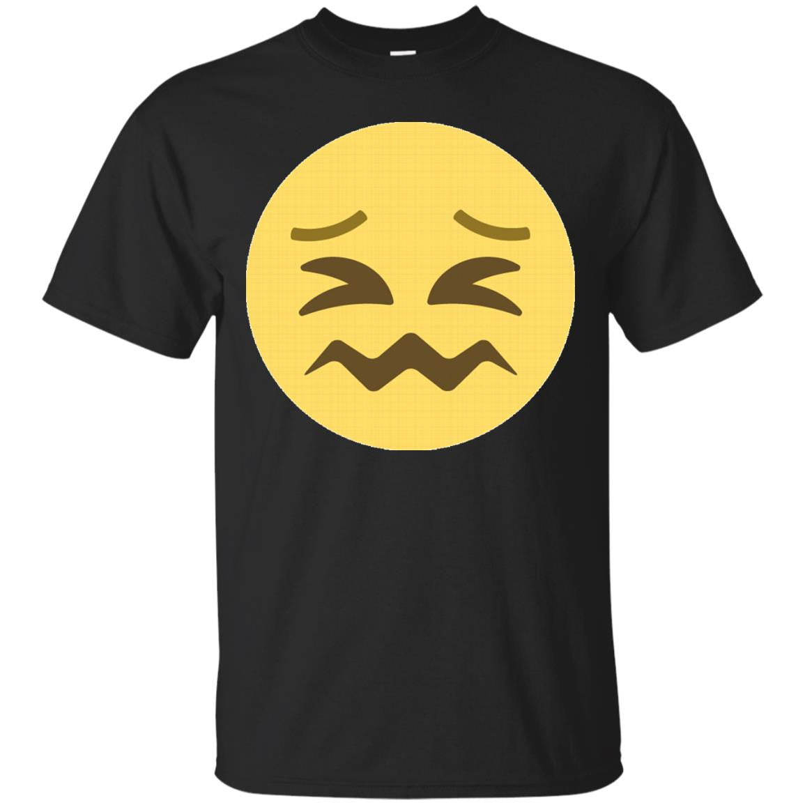 Scrunched up Face Emoji T-Shirt