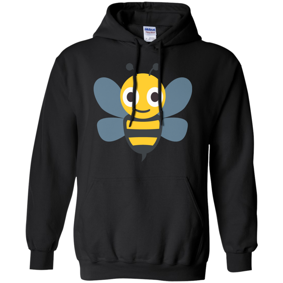 Bumble Bee Emoji Hoodie – That Merch Store