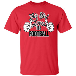 This Girl Loves Football T-Shirt