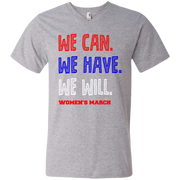We Can, We Have, We Will Women's March Men's V-Neck T-Shirt