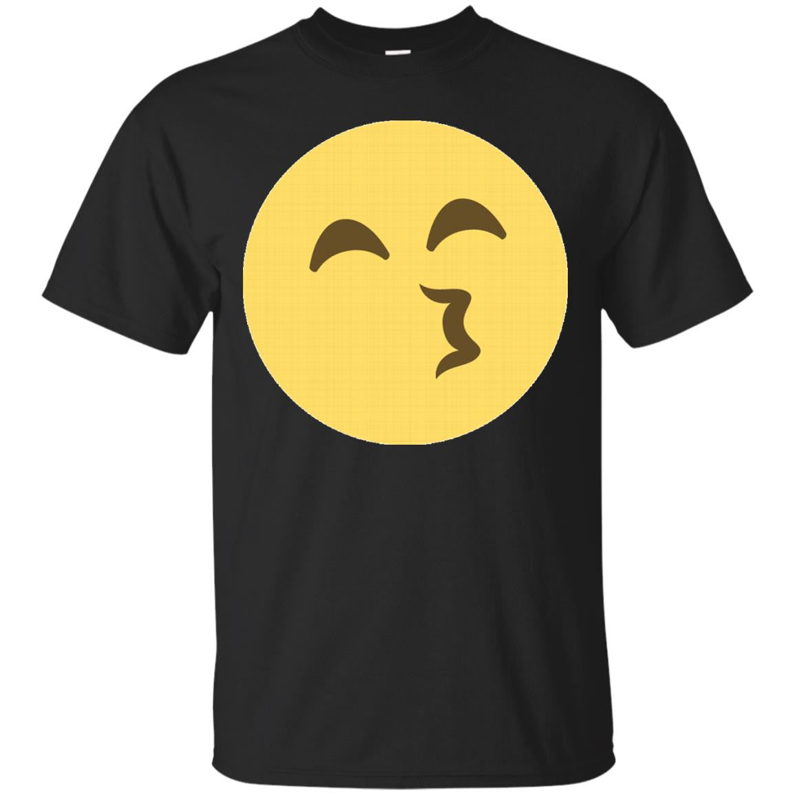 Whistling Emoji Face T-Shirt