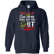 Thats my Awesome Daughter Out There Baseball Hoodie
