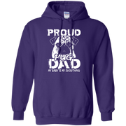 Proud Pug Dad, My Baby is my Everything Hoodie