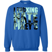 Snatch I Fu*king Hate Pikey's Movie Quote Sweatshirt
