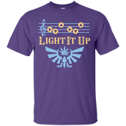 Zelda Light Up Up 'Make It Rain' Song T-Shirt