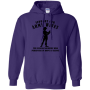 Support Our Army Wives Hoodie