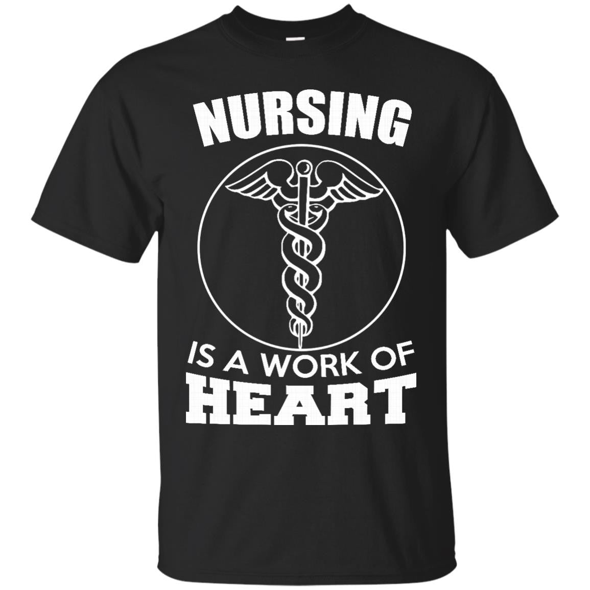 Nursing It's a Work of Heart T-Shirt