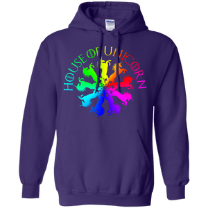 House Of Unicorn - Throne Games Parody Hoodie