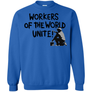 Workers of the World Unite! Protest Trump  Sweatshirt