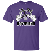 This Girl Loves Her Boyfriend T-Shirt