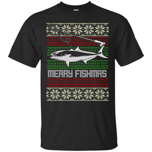 Christmas Fishing Jumper T-Shirt