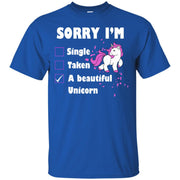 Sorry I'm A Unicorn T-Shirt